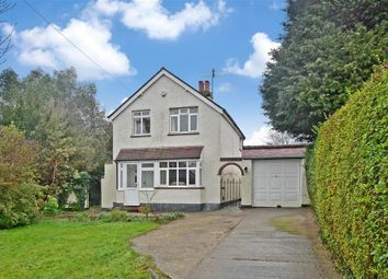 Thumbnail 3 bed detached house for sale in Crabtree Lane, Bookham, Leatherhead, Surrey