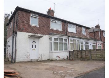 Thumbnail 3 bed semi-detached house for sale in Atherstone Avenue, Manchester
