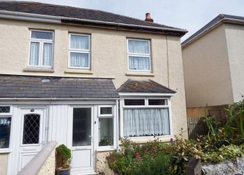 Thumbnail 3 bedroom semi-detached house for sale in St. Georges Hill, Perranporth