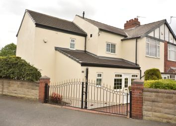 Thumbnail 4 bed semi-detached house for sale in Alan Crescent, Leeds