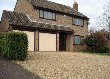 Thumbnail 4 bed detached house for sale in Larklands, Peterborough, Cambridgeshire