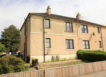 Thumbnail 2 bed flat for sale in Glen Crescent, Glen Village, Falkirk