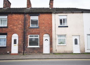 Thumbnail 2 bed terraced house for sale in Buxton Road, Leek