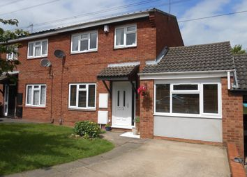 Thumbnail 3 bed semi-detached house for sale in Cutworth Close, Walmley, Sutton Coldfield