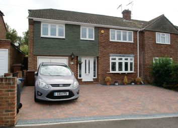 Thumbnail 4 bed semi-detached house for sale in Manston Drive, Bishop's Stortford