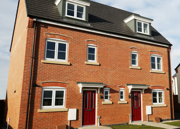 Thumbnail 3 bed mews house for sale in Off Hallam Fields Road, Birstall