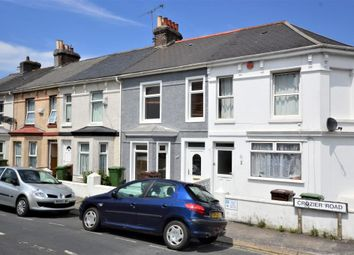 Thumbnail 3 bed terraced house to rent in Crozier Road, Plymouth, Devon