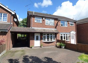 Thumbnail 3 bedroom semi-detached house for sale in Uttoxeter Road, Blythe Bridge, Stoke-On-Trent