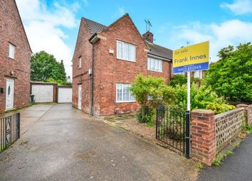 Thumbnail 3 bed semi-detached house for sale in Clumber Crescent, Stanton Hill, Nottinghamshire