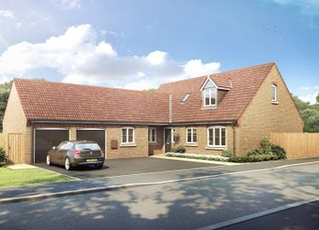 Thumbnail 4 bedroom bungalow for sale in Wardentree Lane, Pinchbeck