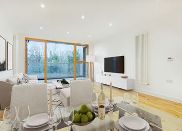 Thumbnail 1 bed flat for sale in Station Approach, London
