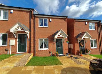 Thumbnail 2 bed end terrace house for sale in Barwell Drive, Rothley, Leicester
