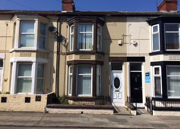 Thumbnail 3 bed terraced house to rent in Bellamy Road, Liverpool