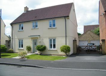 Thumbnail 4 bed detached house for sale in Stickleback Road, Calne
