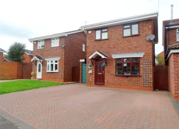 Thumbnail 3 bed detached house for sale in Grayling Close, Worcester