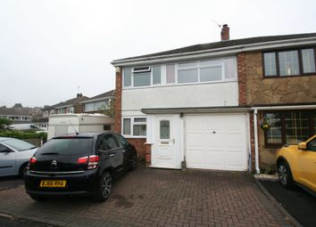 Thumbnail 3 bed semi-detached house to rent in Winchester Rise, Dudley, West Midlands