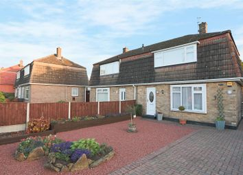 Thumbnail 2 bed semi-detached house for sale in Smithy Crescent, Arnold, Nottingham