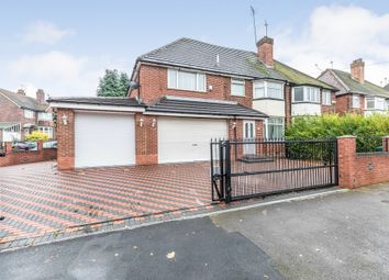 Thumbnail 4 bedroom semi-detached house for sale in Norman Road, Bearwood, Smethwick