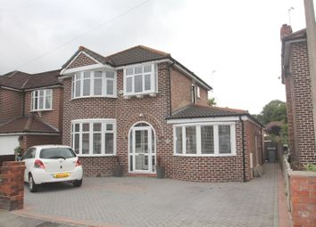 Thumbnail 4 bed detached house for sale in Ullswater Road, Urmston, Manchester