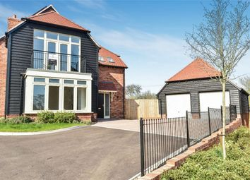 Thumbnail 4 bedroom detached house for sale in Bighton Hill, Ropley, Alresford