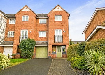 Thumbnail 4 bed terraced house for sale in Cookes Close, Neston