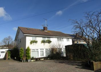 Thumbnail 4 bed semi-detached house for sale in The Dale, Widley, Waterlooville