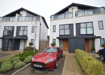 Thumbnail 3 bedroom semi-detached house for sale in Godwin Terrace, Romford, Essex