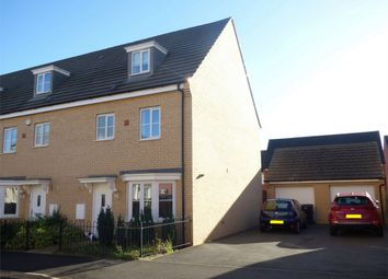 Thumbnail 4 bed end terrace house for sale in Apollo Avenue, Peterborough, Cambridgeshire