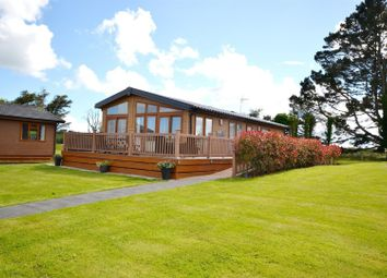 Thumbnail 3 bed mobile/park home for sale in Moreton Farm, Moreton, Saundersfoot