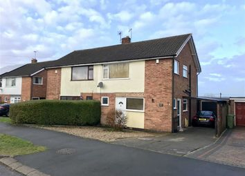 Thumbnail 3 bed semi-detached house for sale in Chestnut Road, Glenfield, Leicester