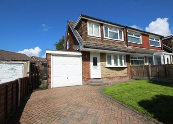 Thumbnail 3 bed semi-detached house for sale in Eafield Close, Milnrow, Rochdale