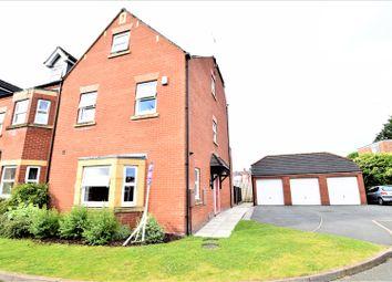 Thumbnail 4 bedroom semi-detached house for sale in Grosvenor Gardens, Wrexham