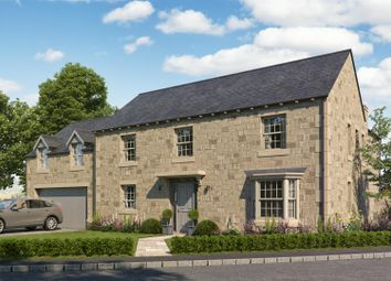 Thumbnail 5 bed detached house for sale in West House Gardens, Birstwith, Harrogate