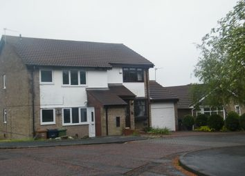 Thumbnail 1 bed flat to rent in Plover Close, Washington