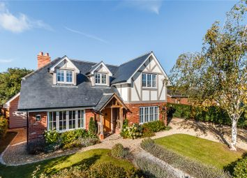 Thumbnail 4 bed detached house for sale in Orchard Close, Shiplake Cross, Oxfordshire