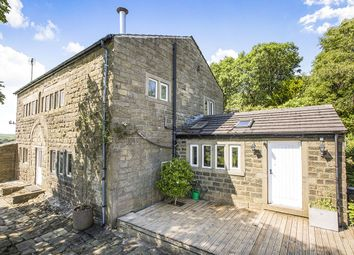 Thumbnail 5 bed detached house for sale in Halstead Green, Hebden Bridge