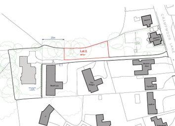 Thumbnail Land for sale in The Ridges, Crampmoor Lane, Crampmoor, Romsey, Hampshire