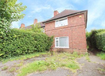 Thumbnail 2 bedroom terraced house for sale in Meriden Avenue, Beeston, Nottingham