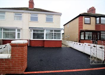 Thumbnail 2 bed semi-detached house to rent in St. Davids Avenue, Thornton-Cleveleys