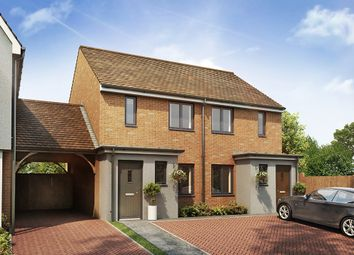 "Thumbnail 2 bed semi-detached house for sale in ""The Alnwick"" at Southfleet Road, Swanscombe"