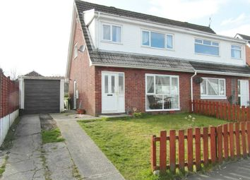 Thumbnail 3 bed semi-detached house for sale in Oxwich Close, Cefn Hengoed, Ystrad Mynach, Caerphilly County