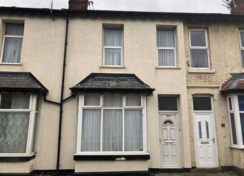 Thumbnail 3 bed terraced house for sale in Kent Road, Blackpool