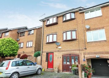 Thumbnail 3 bed town house for sale in Warwick Close, Bury