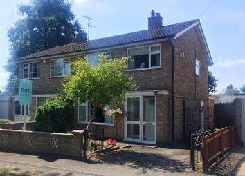 Thumbnail 3 bed semi-detached house for sale in Wavertree Close, Cosby, Leicester