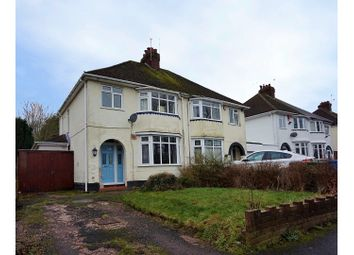 Thumbnail 3 bedroom semi-detached house for sale in Lane Green Road, Wolverhampton