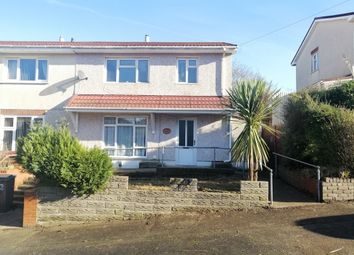 Thumbnail 3 bedroom semi-detached house for sale in Crynallt Road, Cimla, Neath