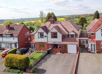 Thumbnail 4 bed semi-detached house for sale in Crumpfields Lane, Webheath, Redditch