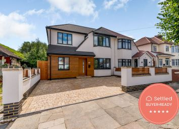 Thumbnail 4 bed semi-detached house for sale in Harewood Avenue, Northolt UB55De
