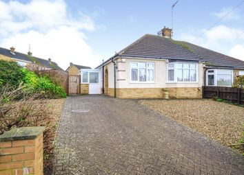 Thumbnail 2 bed semi-detached bungalow for sale in Glebe Avenue, Hardingstone, Northampton