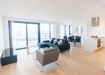 Thumbnail 3 bedroom flat for sale in Horizons Tower, Yabsley Street, Canary Wharf
